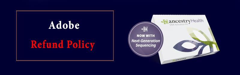 Ancestry Refund Policy